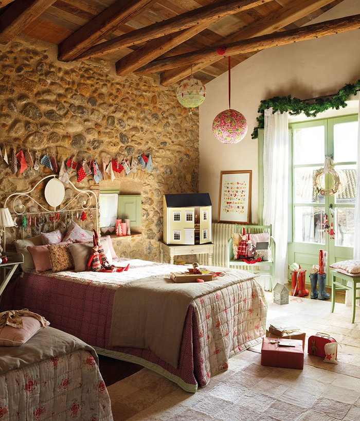 Christmas atmosphere in a fairy tale house16