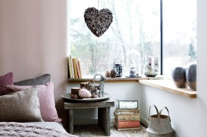 Copper and pink in Scandinavian design