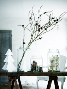 Natural and simple Christmas center decor ideas5