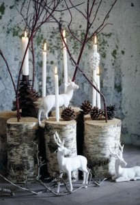 Natural and simple Christmas center decor ideas6