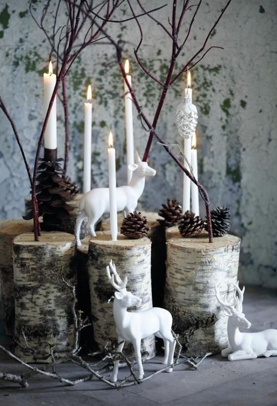 Natural and simple christmas center decor ideas my desired home - Deco interieur nature ...