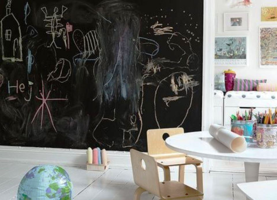 blackboard in kids room my desired home
