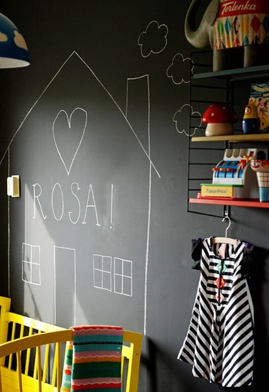 Blackboard in kids room1