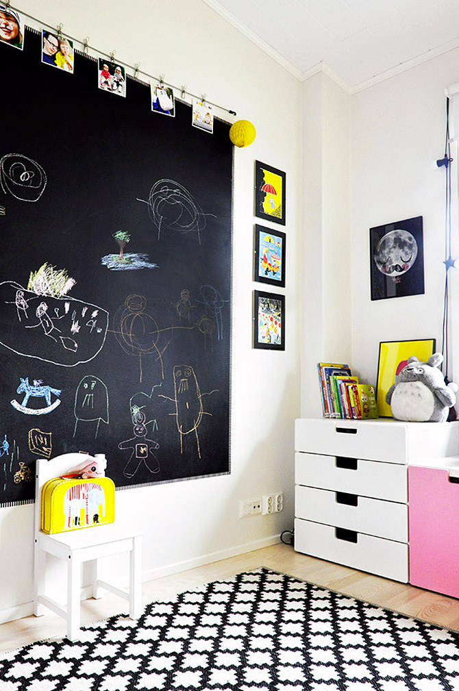 Wonderful Children S Room In Yellow And Pink My Desired Home