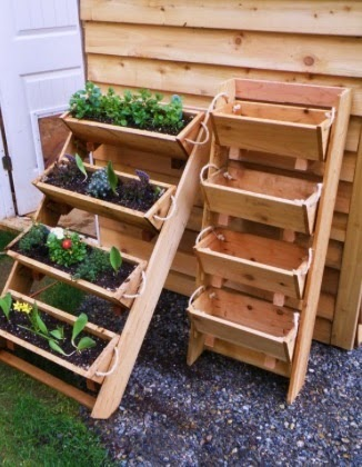 Ideas for small gardens - Balconies14