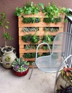 Ideas for small gardens - Balconies22