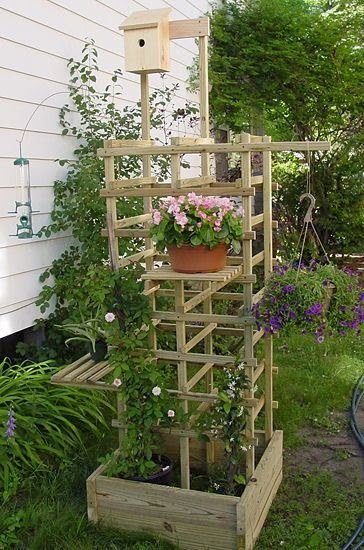 Ideas for small gardens - Balconies25