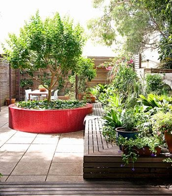 Ideas for small gardens - Balconies26