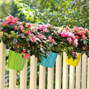 Ideas for small gardens - Balconies31