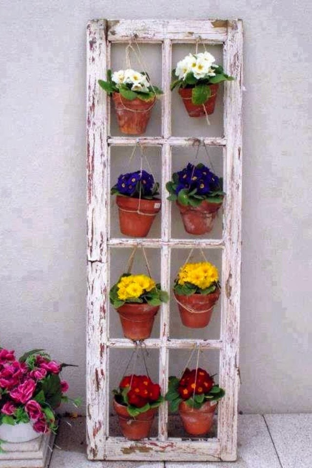 Ideas for small gardens - Balconies37