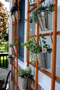 Ideas for small gardens - Balconies5
