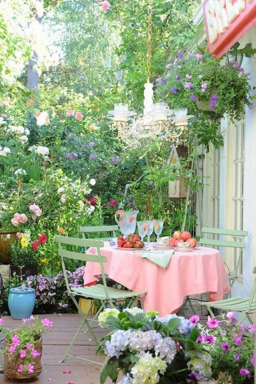 Ideas for small gardens - Balconies8