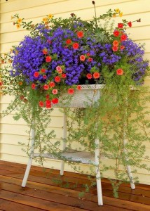 Ideas for small gardens - Balconies9