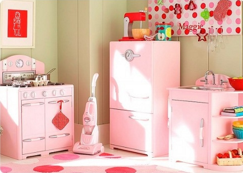 Ideas For Girly Style In The Kitchen