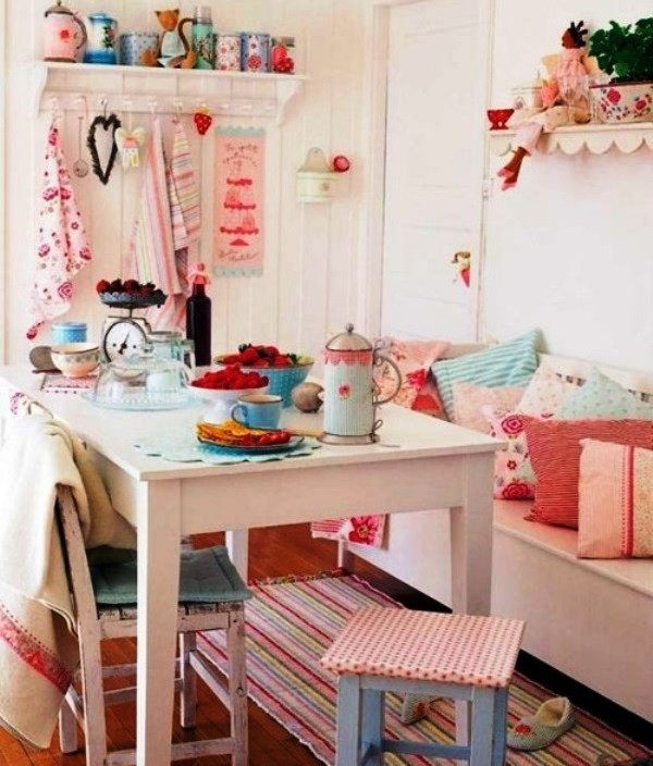 Girly Kitchen Decor: Cool Ideas For Girly Style In The Kitchen