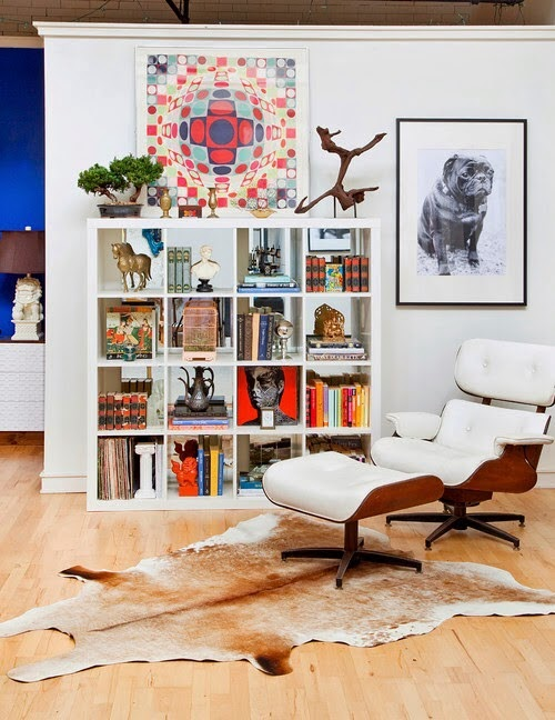 Eclectic decor in a loft1