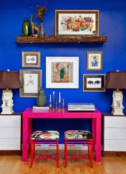 Eclectic decor in a loft7