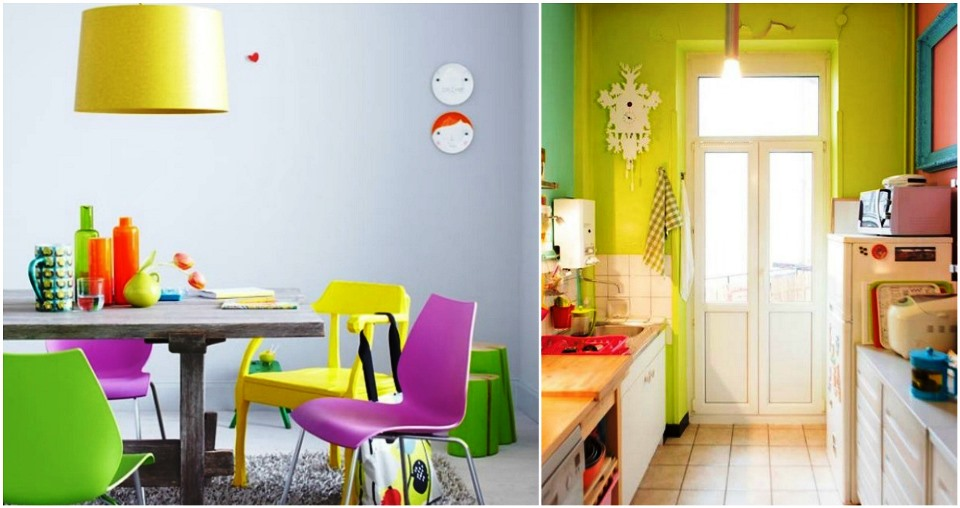 Playful kitchens ideas