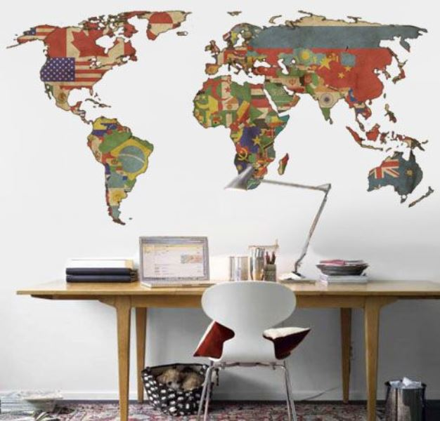 Maps as decorative objects my desired home maps as decorative objects4 gumiabroncs Choice Image