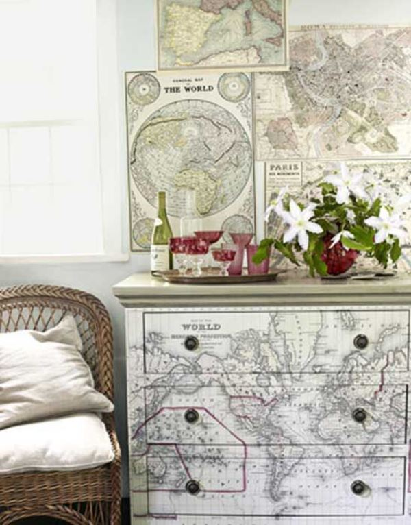 Maps as decorative objects6