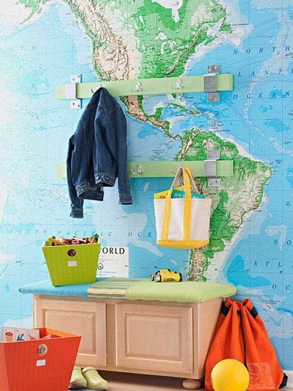 Maps as decorative objects7