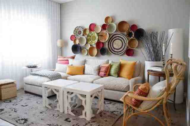 Decorating Ideas with collection objects2