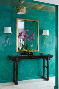 Choose turquoise to decorate1