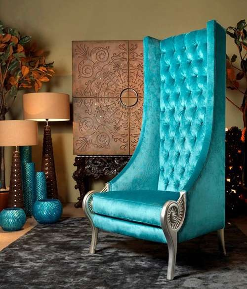 Choose turquoise to decorate13