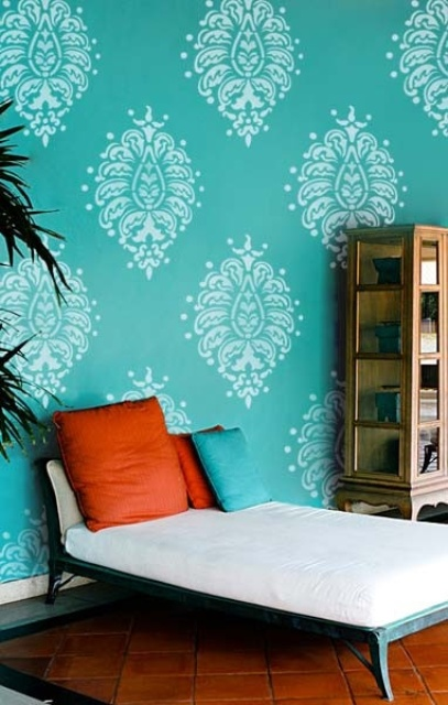 Choose turquoise to decorate4