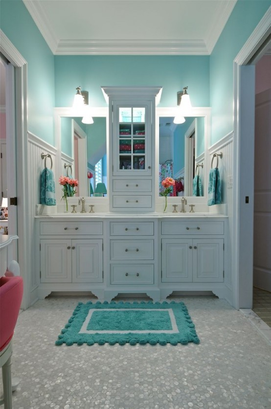 Choose turquoise to decorate9