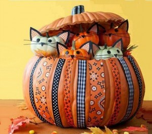 Decorate with pumpkins2