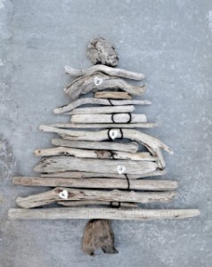 Christmas tree ideas from log and branches24