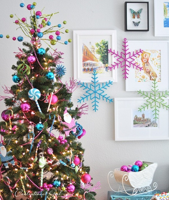 Colorful Christmas ideas15