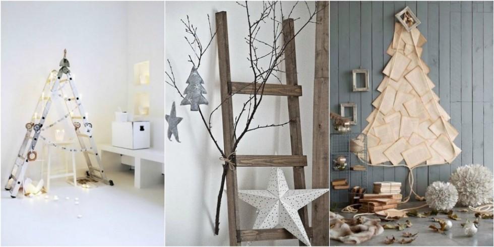 minimalistic Christmas Trees