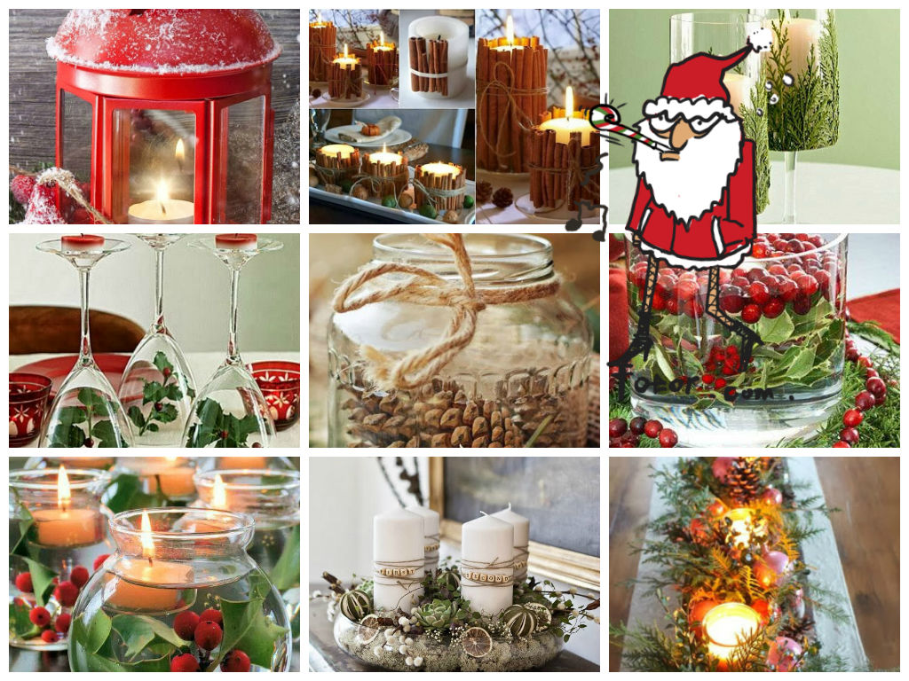 42 Christmas candleholders ideas