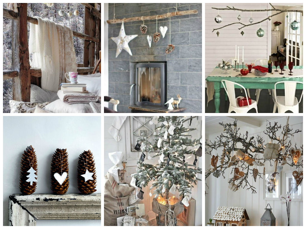 Rustic crhistmas decor ideas my desired home - Home decorating classes decoration ...