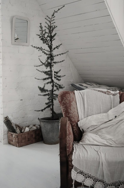 Rustic Crhistmas decor ideas15