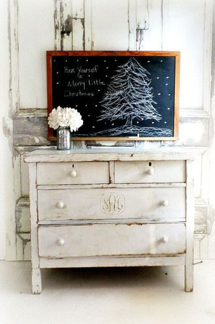 Rustic Crhistmas decor ideas7