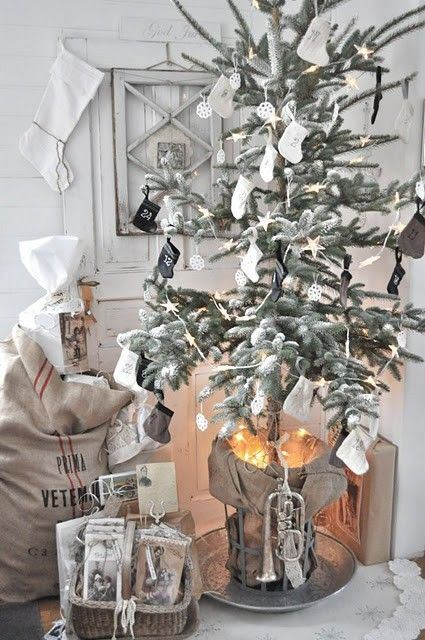 Rustic Crhistmas decor ideas8