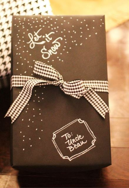 ideas to Wrap your Christmas gifts3