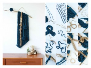 An Authentic diy wall decoration