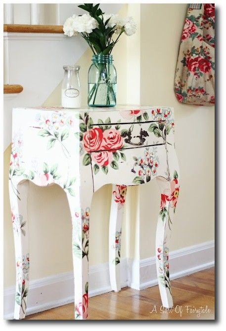 Furniture decoupage ideas | My desired home