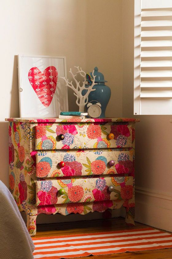 Furniture decoupage ideas5