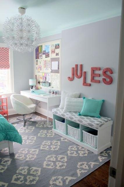 Girly children's rooms ideas5