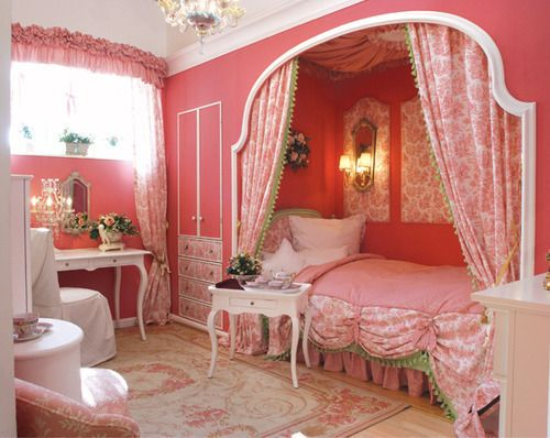 Girly children 39 s rooms ideas my desired home for Girly wallpapers for bedrooms