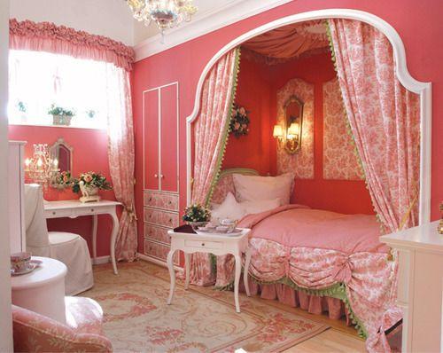 Girly children's rooms ideas8