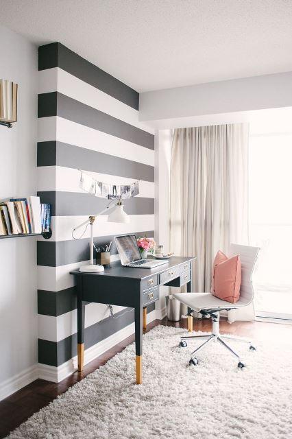 black and white stripes decor8