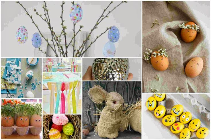 80 easter home decoration and diy ideas for inspiration for Diy easter decorations for the home