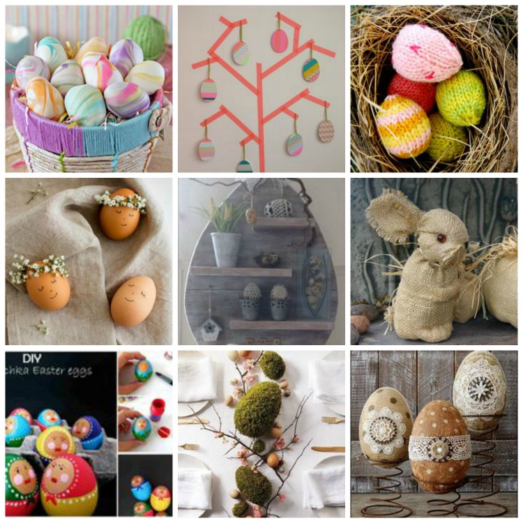 Easter home decoration and diy ideas for inspiration