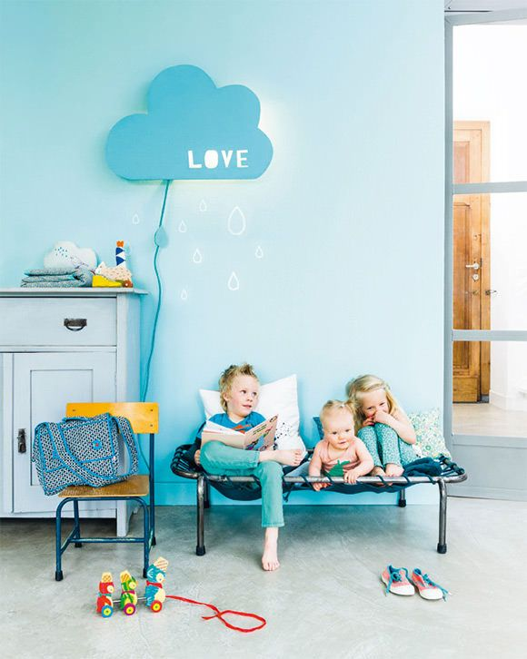 Kids rooms with color and pop details9